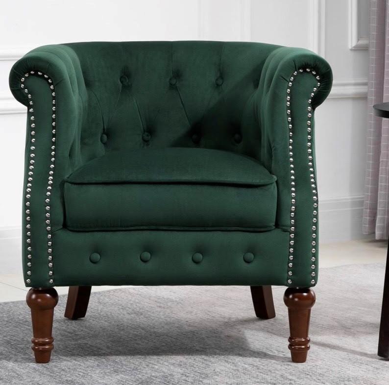 Freya green chair