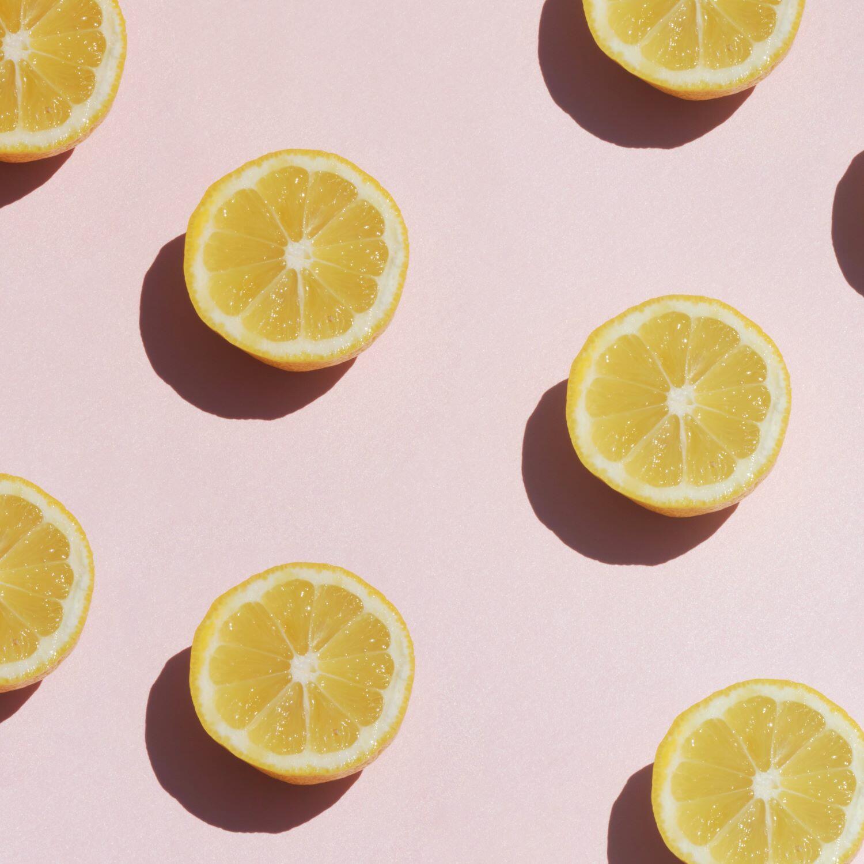 Yellow Lemon Slices