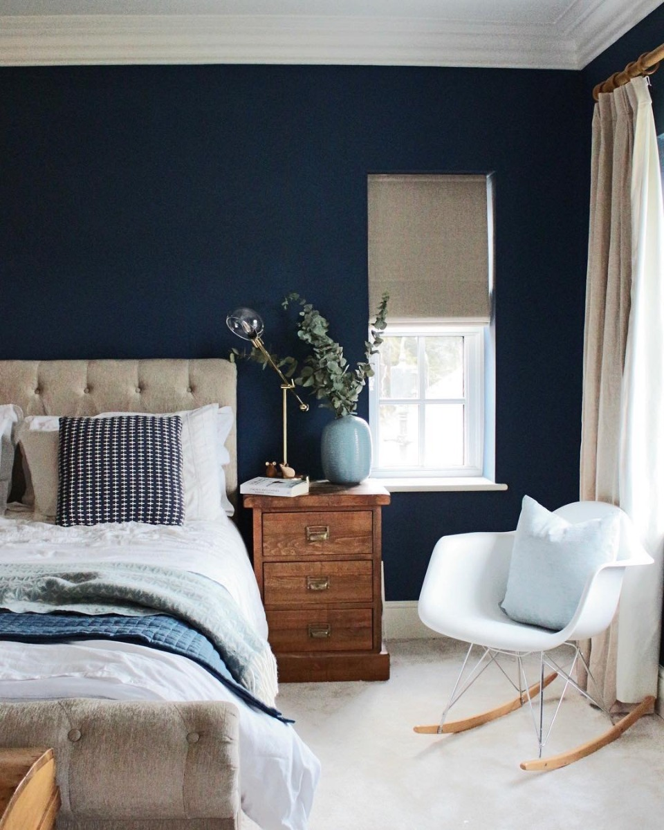 Ravello Sleigh Bed styled by 'The Squiffy Mill'