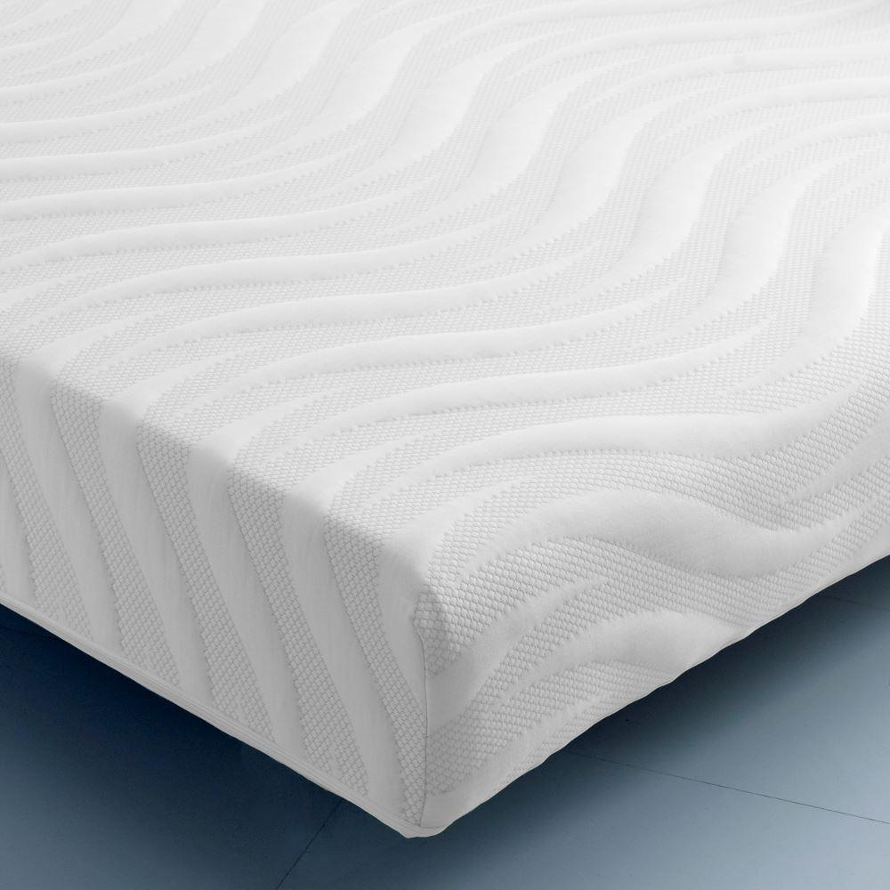 Pocket Bounce 2000 Individual Sprung Reflex Foam Support Orthopaedic Rolled Mattress - 5ft King Size (150 x 200 cm)