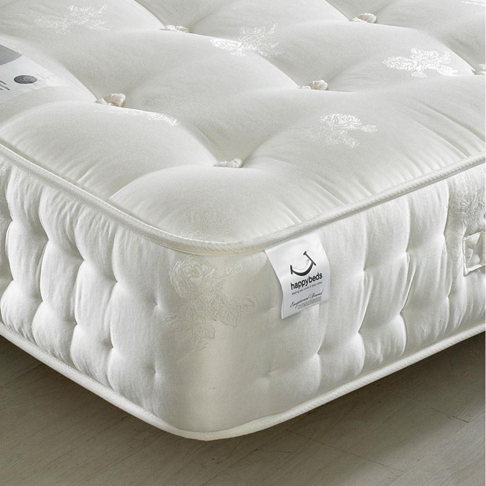 Signature Silver 1400 Pocket Sprung Orthopaedic Natural Fillings Mattress - 5ft King Size (150 x 200 cm)