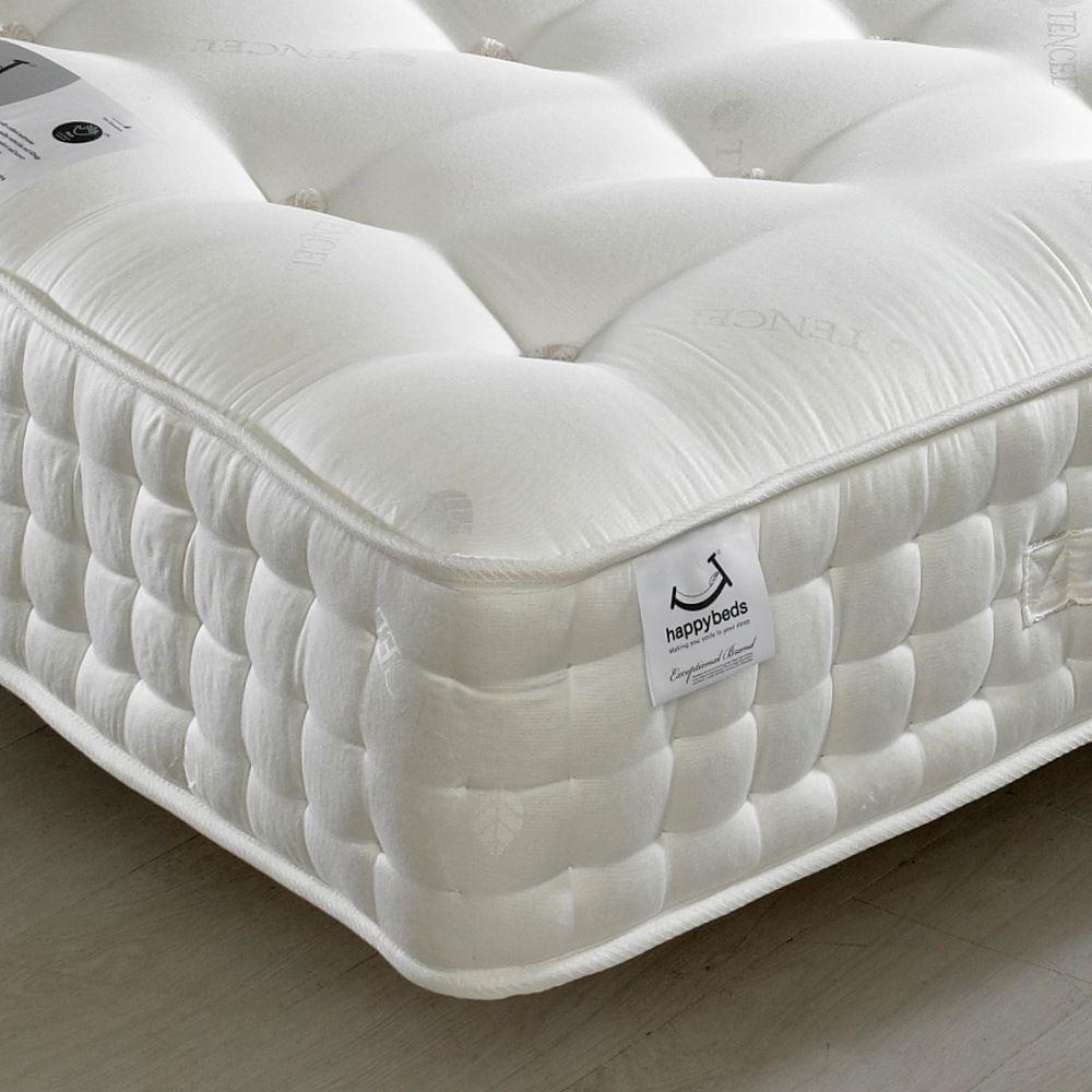 Tennyson 4000 Twin Pocket Sprung Air Flow Orthopaedic Natural Fillings Mattress - 5ft King Size (150 x 200 cm)