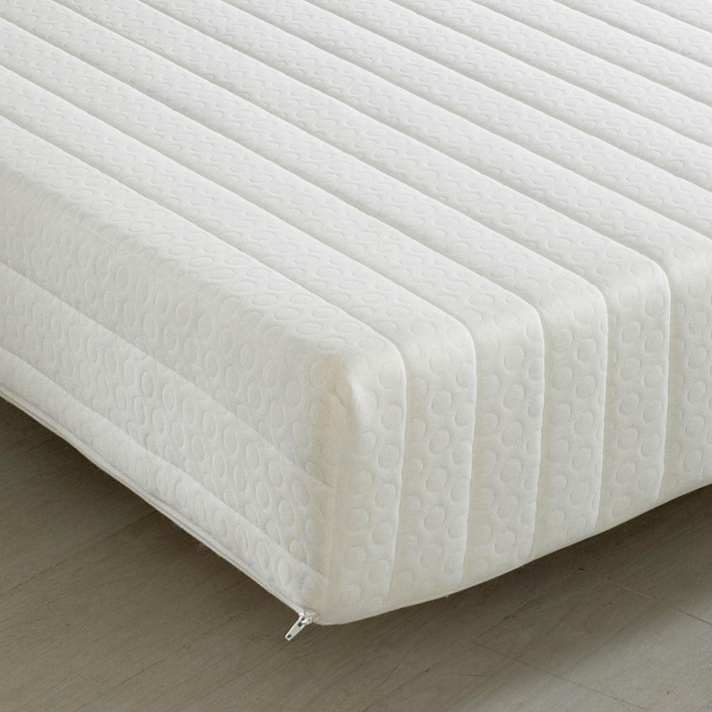 Touch 3-Zone Memory Foam Orthopaedic Rolled Mattress - 6ft Super King Size (180 x 200 cm)