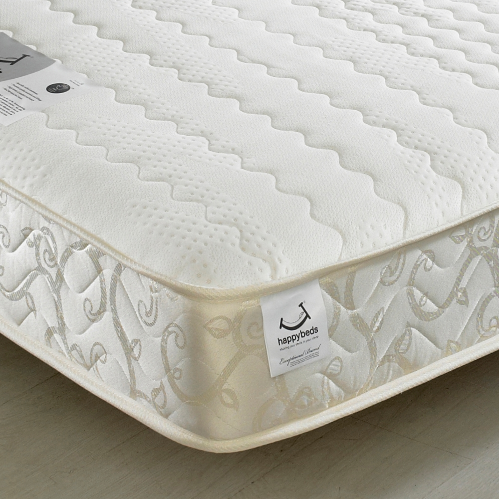 Membound Memory Foam Spring Mattress - 6ft Super King Size (180 x 200 cm)