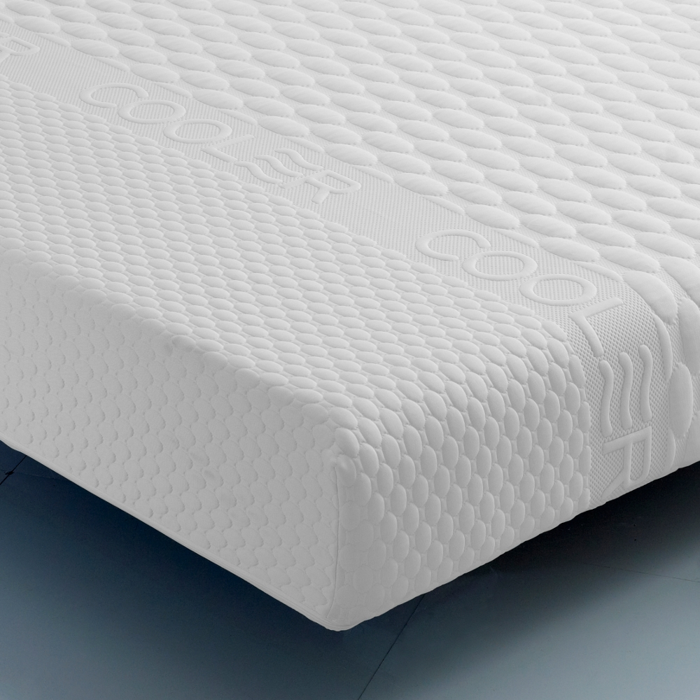 Deluxe Memory Spring Rolled Mattress - 4ft Small Double (120 x 190 cm)