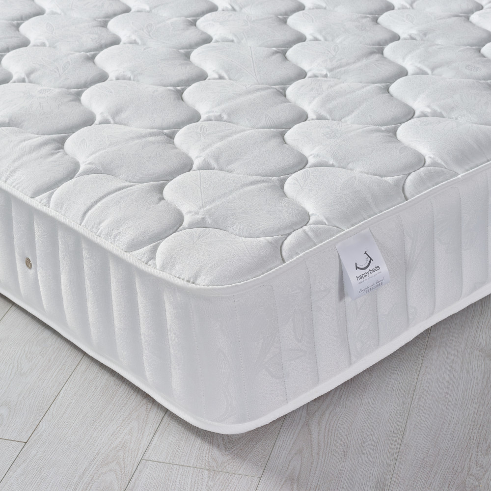 Neptune Spring Quilted Cotton Fabric Mattress - 5ft King Size (150 x 200 cm)