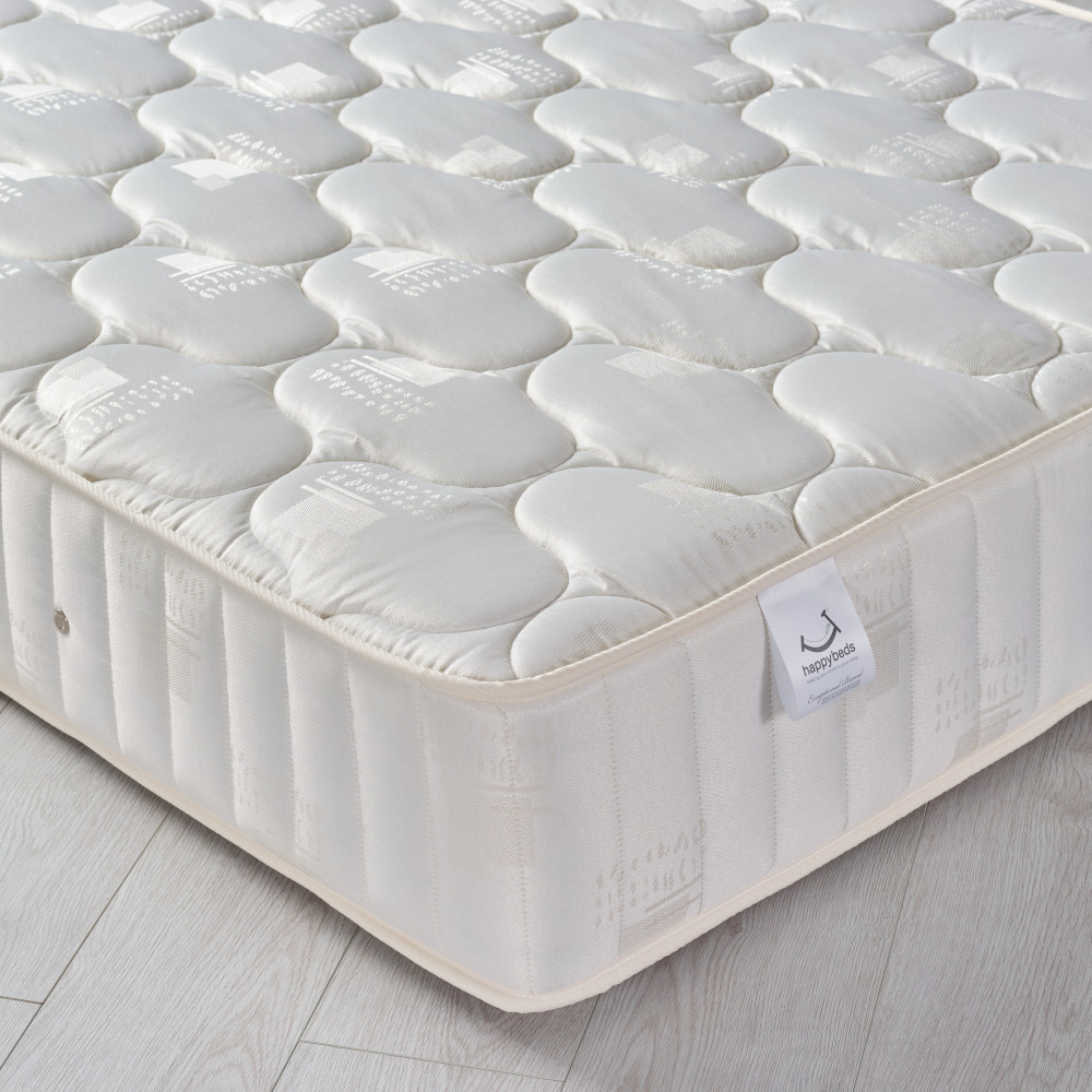 5ft King Size Quilted Fabric Mattress - Semi-Orthopaedic Pinerest Spring