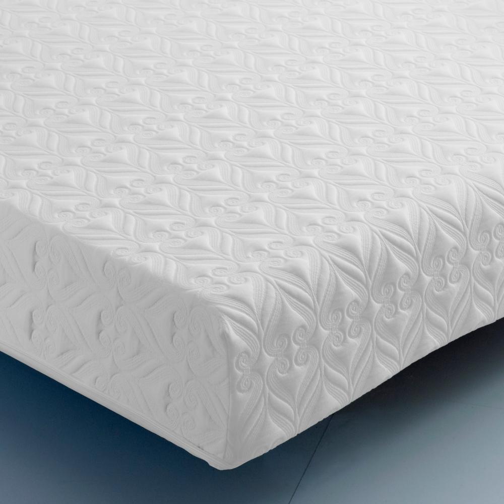 Pocket Comfort 3000 Individual Sprung Reflex Foam Support Orthopaedic Rolled Mattress - 5ft King Size (150 x 200 cm)