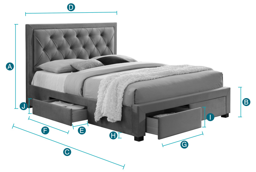 Beds Size Guide Happy, How Much Wider Is A King Bed From Queen