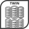Twinpocketspring